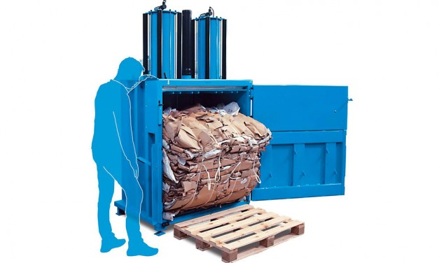 What is the difference between a hydraulic and pneumatic baler?