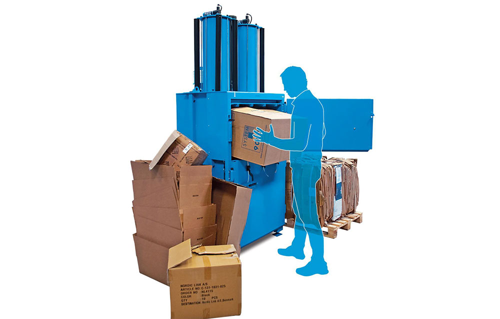 The Business Benefits of an Industrial Cardboard Baler